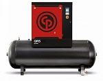 10 HP Rotary Screw Air Compressor 125 PSI, 132 Gallon Air Tank | QRS 10 HP